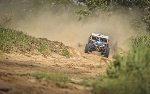 Rodrigo Varela lidera os UTVs do Brasileiro de Rally Baja 2018 com o Can-Am Maverick X3 Crédito: Luciano Santos/DFotos/Mundo Press