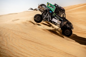 Reinaldo Varela e Gustavo Gugelmin com o UTV Can-Am Maverick X3 no Campeonato Mundial de Rally Cross Country 2019 Crédito: MCH Photography